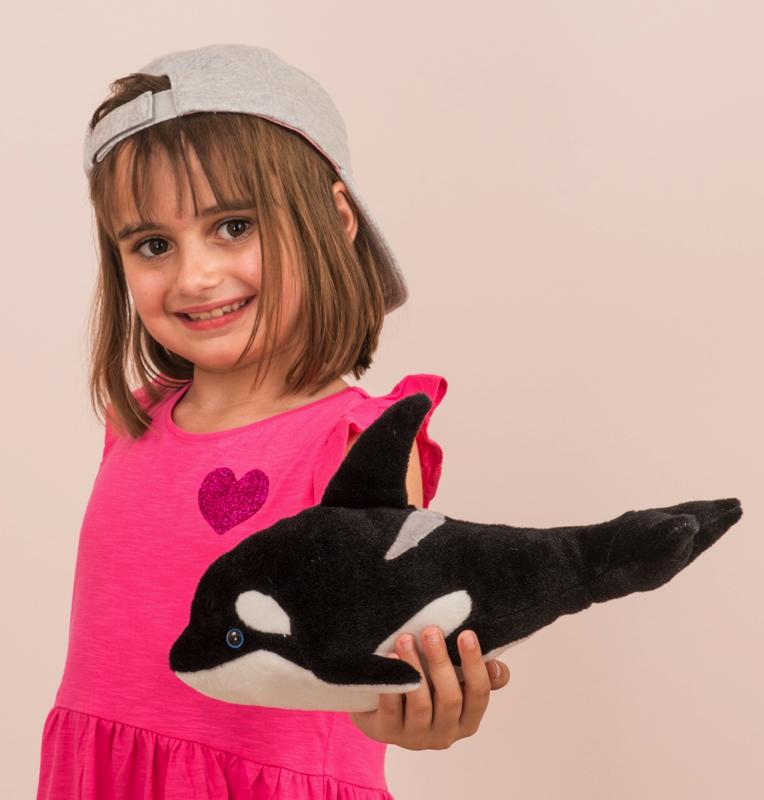 Orca-Wal 33 cm Teddy Hermann