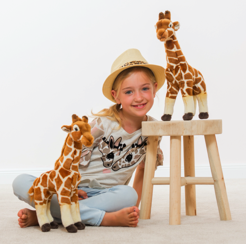 Giraffe stehend 38 cm Teddy Hermann