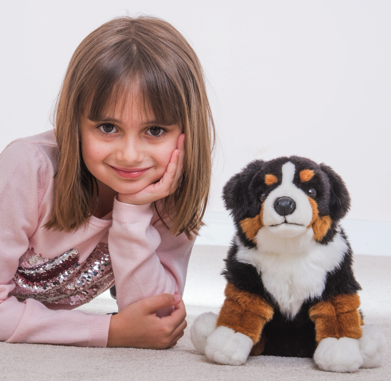 Berner Sennenhund sitzend 29 cm Teddy Hermann