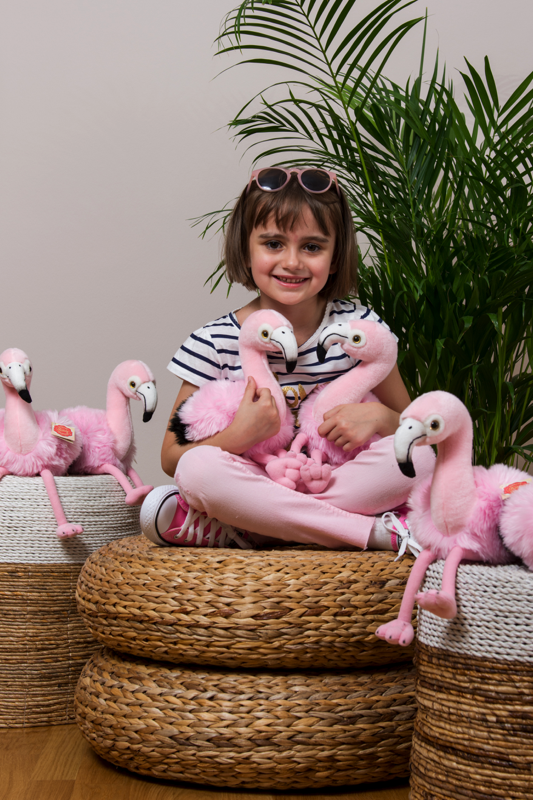 Flamingo Miss Pinky 35 cm Teddy Hermann