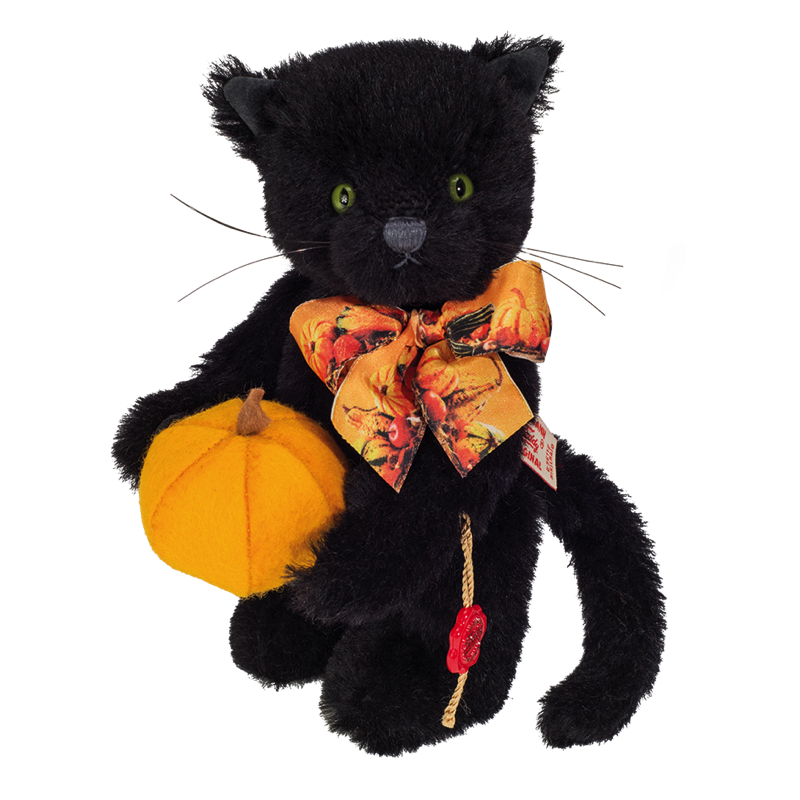 Halloweenkatze 19 cm