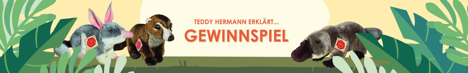 Gewinnspiel Teddy Hermann Kuscheltiere